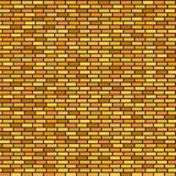 Seamless brick wall background Stock Images