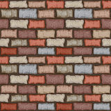 Seamless brick wall Royalty Free Stock Image