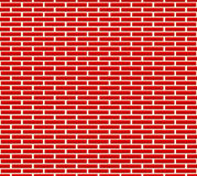 Seamless brick wall pattern with longer bricks Royalty Free Stock Photo