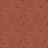 Seamless brick wall Stock Photography