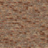 Seamless brick wall texture. Seamless tileable brick wall texture, for backgrounds and 3D apps Royalty Free Stock Photos