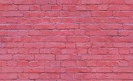 Seamless brick wall texture for background. stock photos