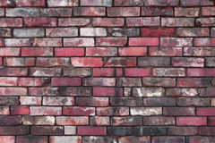 Seamless brickwall texture Royalty Free Stock Photography