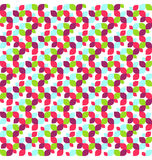 Seamless Bright Abstract Leafs Pattern Stock Photos