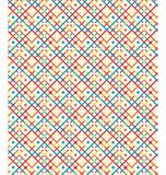 Seamless bright abstract pattern Royalty Free Stock Image