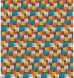 Seamless bright abstract pattern Stock Image
