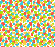 Seamless bright abstract pattern isolated on white Royalty Free Stock Photo