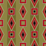 Seamless bright abstract pattern rhombuses square texture geomet Royalty Free Stock Photos