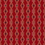 Seamless bright abstract pattern rhombuses square texture geomet Stock Images