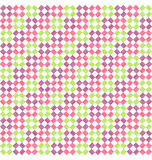 Seamless Bright Abstract Rhombus Pattern Stock Photos