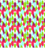 Seamless Bright Abstract Stained Glass Pattern Royalty Free Stock Photography