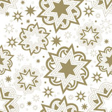 Seamless bright abstract star background. Royalty Free Stock Photos