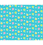 Seamless bright childish abstract pattern with lollipops Stock Images