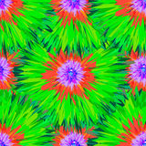 Seamless bright colors tropical floral pattern Stock Photography