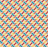Seamless bright fun abstract modern pattern Royalty Free Stock Photo