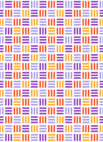 Seamless bright fun abstract mosaic knitted pattern  on Stock Photo