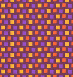 Seamless bright fun abstract mosaic pattern  on violet Royalty Free Stock Images