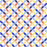 Seamless bright geometric circle pattern. Stock Photography