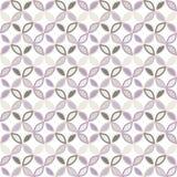 Seamless bright geometric circle pattern. Royalty Free Stock Image