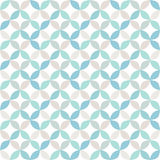 Seamless bright geometric circle pattern. Royalty Free Stock Photos