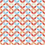 Seamless bright geometric circle pattern. Stock Images