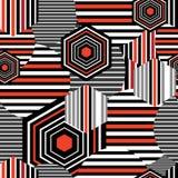 Seamless bright geometric pattern Royalty Free Stock Image