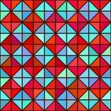Seamless bright geometric texture Stock Photo