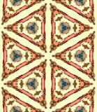 Seamless bright kaleidoscope Royalty Free Stock Photography