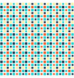 Seamless bright mosaic abstract pattern Stock Image
