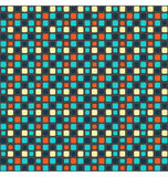 Seamless bright mosaic abstract pattern Royalty Free Stock Photos