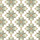 Pattern- Colored oriental ornament Royalty Free Stock Photography