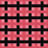 Seamless bright pattern background geometric abstract. Texture Stock Photo