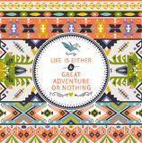 Seamless bright pattern in navajo style Royalty Free Stock Image