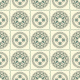 Seamless bright pattern, oriental style Royalty Free Stock Image