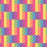 Seamless bright pattern of rectangles. Overlay texture pattern. Royalty Free Stock Images