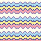Seamless bright striped pattern stock illustration