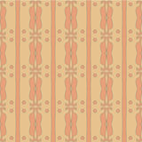 Seamless brown abctract background. Vector royalty free illustration