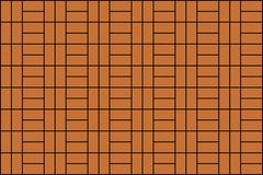 Seamless brown brick wall background vector illustration. Seamless beautiful brown brick wall background vector illustration Vector Illustration