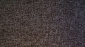 Seamless brown canvas texture royalty free stock image