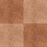 Seamless brown carpet Royalty Free Stock Photos