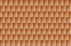 Seamless brown color roof tiles Royalty Free Stock Photo