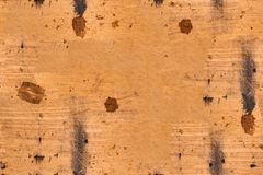 Seamless brown dirty burned wood background Royalty Free Stock Images