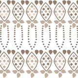 Seamless brown fabric pattern wallpaper Royalty Free Stock Photo