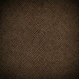 Seamless brown leather texture with golden reflex Stock Photography