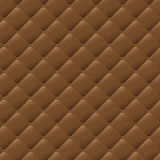Seamless brown leather texture pattern background Royalty Free Stock Photos