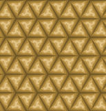 Seamless brown pattern Stock Images