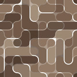 Seamless brown pattern Stock Photos