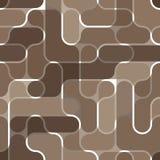 Seamless brown pattern Stock Photos