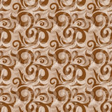 Seamless brown pattern Royalty Free Stock Photography