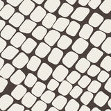 Seamless brown pattern with paving stone Royalty Free Stock Photo